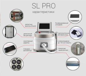 Характеристики аппарата SL PRO