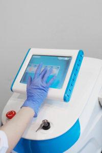 Подготовка и настройка аппарата для эпиляции SL PRO